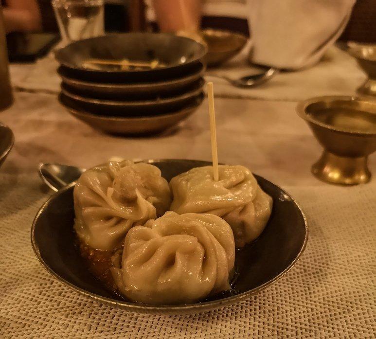 Local Nepali food