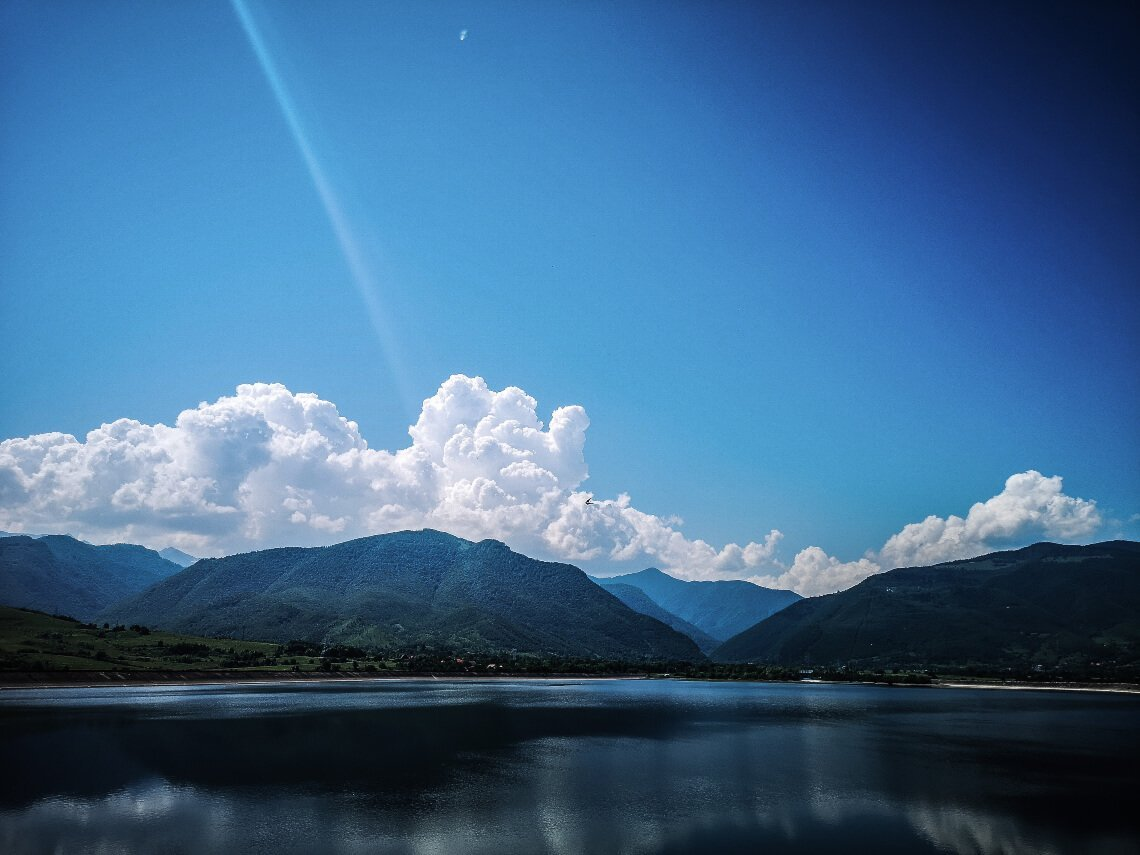 View from the Ostrov Reservoir - Clopotiva