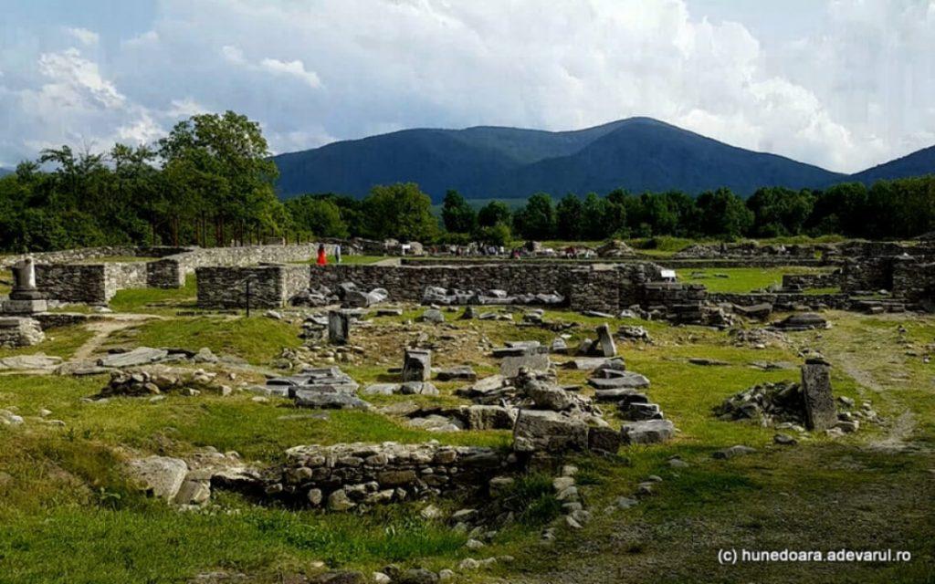 Ruins of Ulpia Traiana Sarmizegetusa