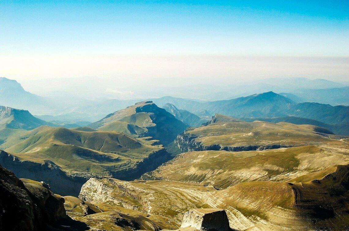 View over Añisclo Canyon - Ordesa y Monte Perdido National Park