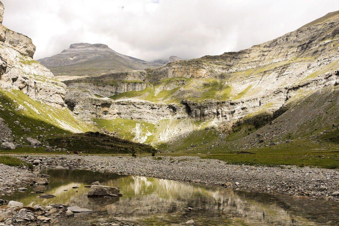 view on Monte Perdido